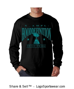 Hanes Beefy Long Sleeve Mens T-Shirt Design Zoom
